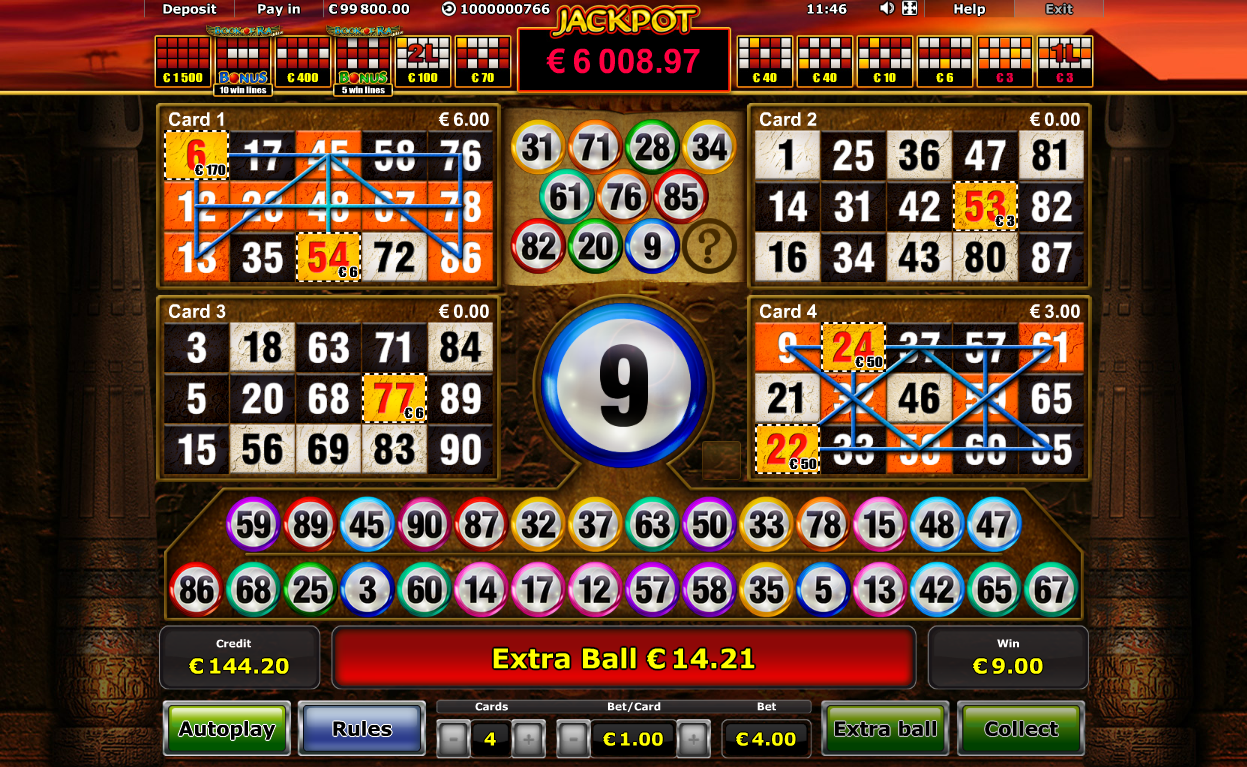 Bingo Patterns On Slot Machines